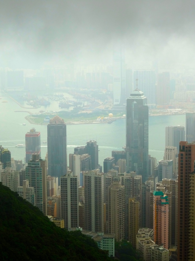 The Peak view Hong Kong https://labtofab.wordpress.com/