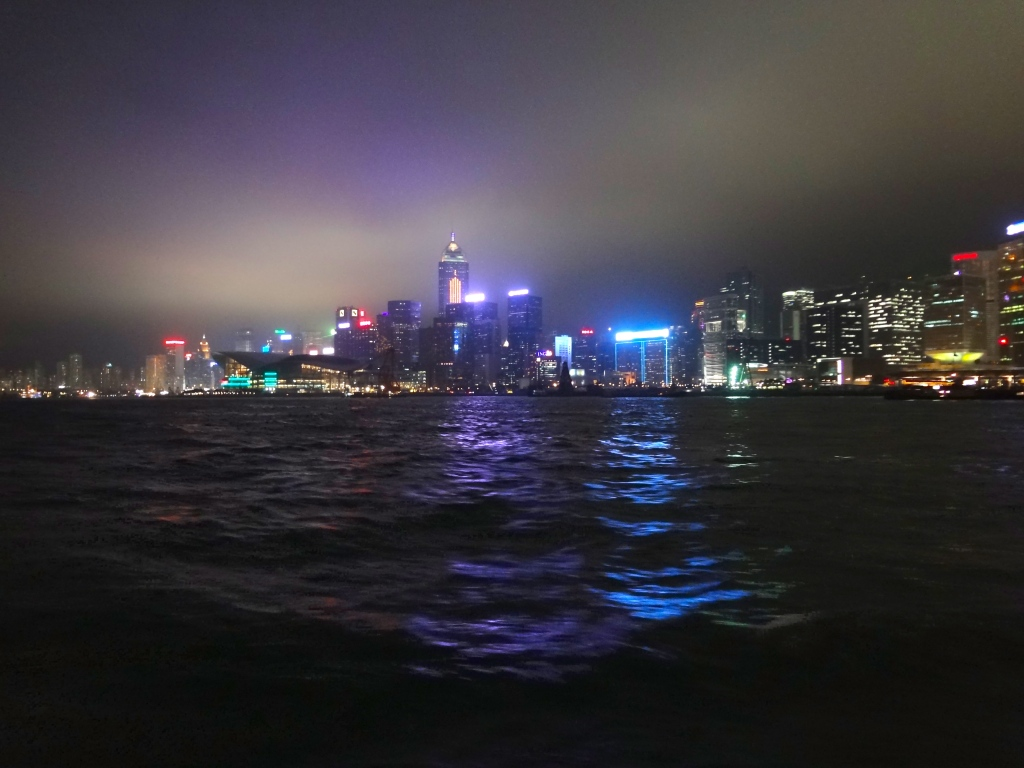 A Symphony of Lights: Hong Kong Skyline at Night