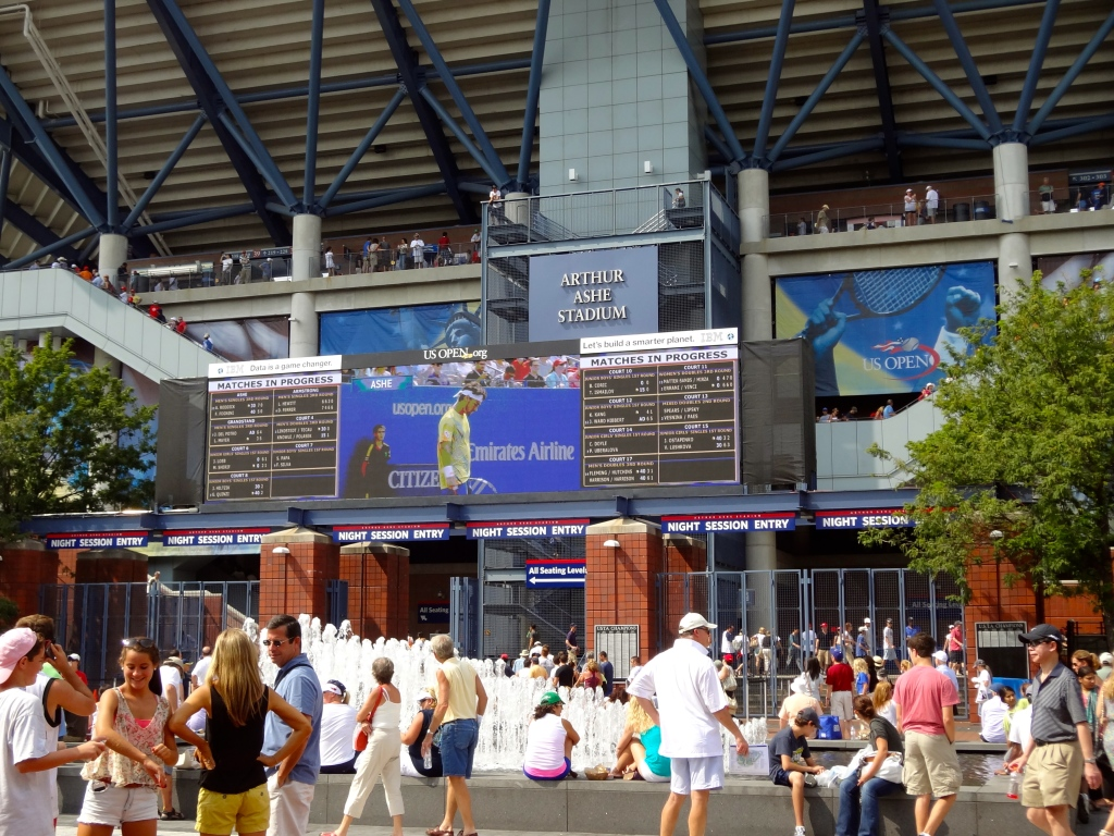 A day at the US Open