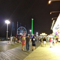 A night at the Jersey Shore