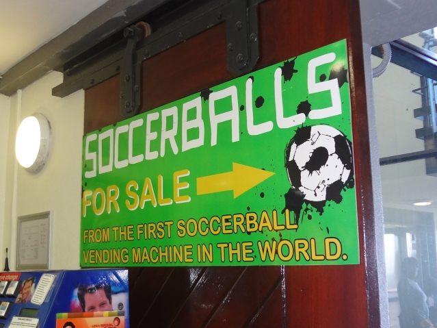 https://labtofab.wordpress.com/ world's first soccer ball vending machine