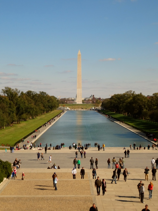 DC Reflecting Pool Washington Monument Lincoln Memorial https://labtofab.wordpress.com/