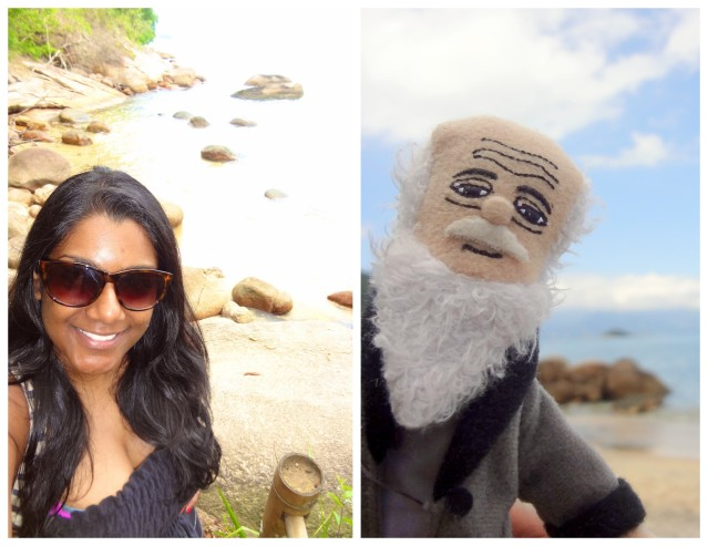 Charles Darwin loves selfies!