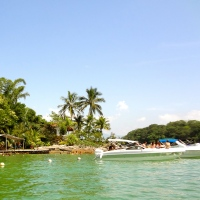 Boat tour of Ilha Grande