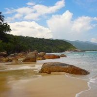 Aventureiro: The best beach on Ilha Grande