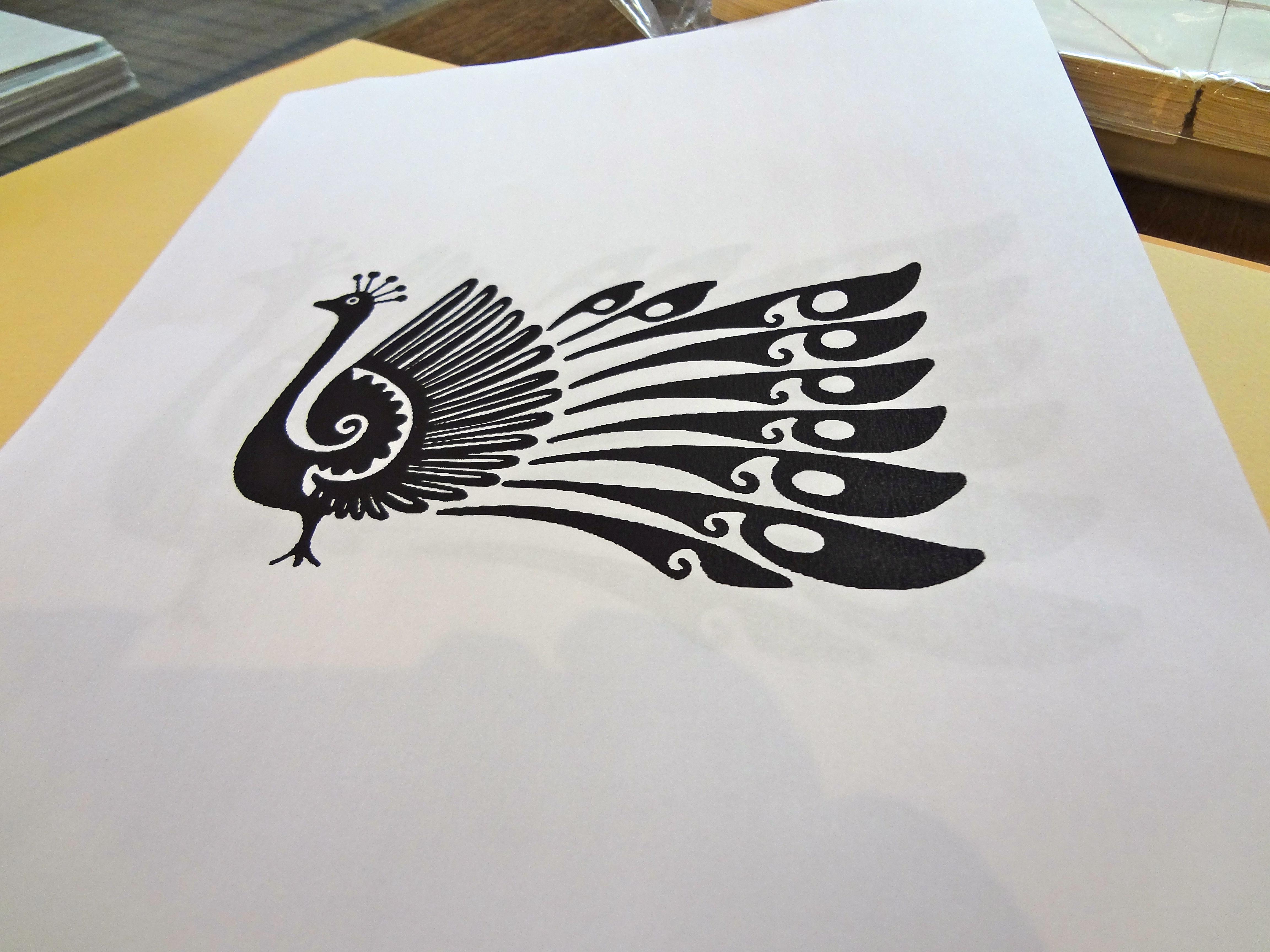 getting artsy screen printing cards at spudnik press kavi360