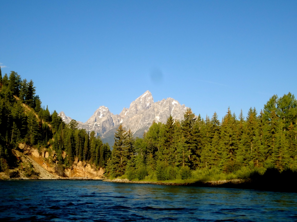 Cruisin' the Snake River at Grand Teton National Park